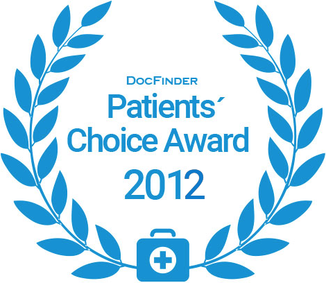 Docfinder Patients' Choice Award 2012