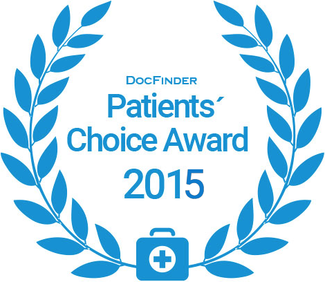 Docfinder Patients' Choice Award 2015